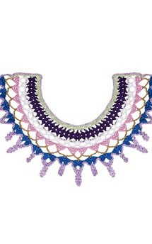 Violet collar by Lana Siberie Product photo