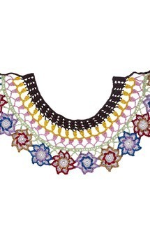 Power-flower collar by Lana Siberie Product photo