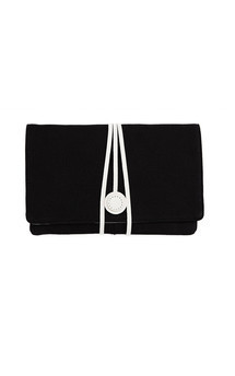 Hyde park in black canvas and white by Torula Bags Product photo