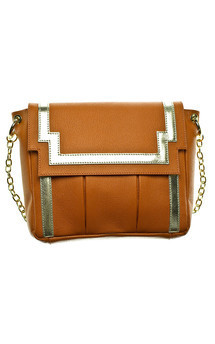 Chinatown in rusty orange leather by Emeline Coates Product photo