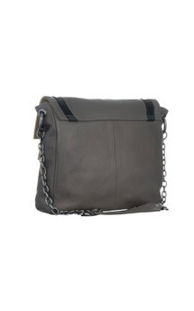 Chinatown in grey leather by Torula Bags Product photo