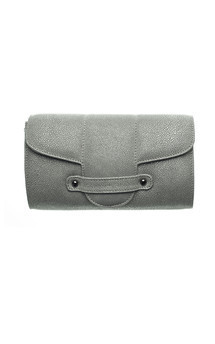 Bond street in grey stingray by Torula Bags Product photo