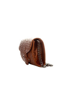 Bond street in brown ostrich by Torula Bags Product photo