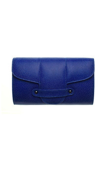 Bond street in blue stingray by Torula Bags Product photo