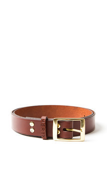 Milfield belt chocolate brown by Meryn Product photo
