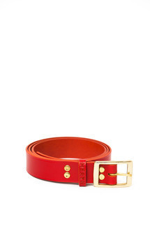 Milfield belt red by Meryn Product photo