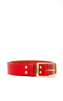The marlow belt red::Azure by Meryn Product photo