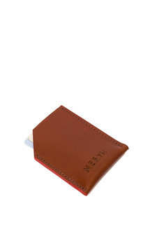 George card wallet tan::Red by Meryn Product photo