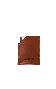 George card wallet tan::Azure by Meryn Product photo
