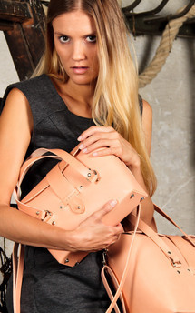 Meri - leather shoulder handbag (m) by Väska Product photo