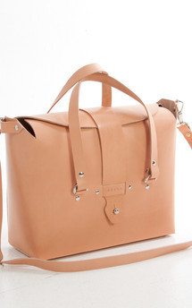 Meri - leather shoulder handbag (l) by Väska Product photo