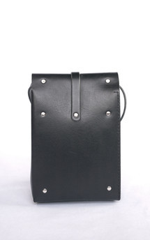 Roll top in black by Chloe Stanyon Design Product photo