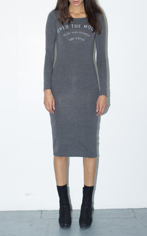 Over the moon midi dress by The English Tee Shop Product photo