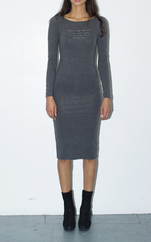 Keep a low profile midi dress by The English Tee Shop Product photo