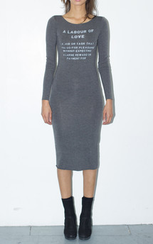 A labour of love midi dress by The English Tee Shop Product photo