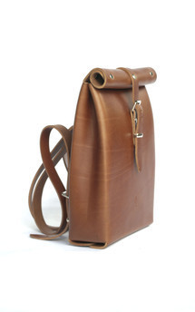 Roll top backpack by Chloe Stanyon Design Product photo