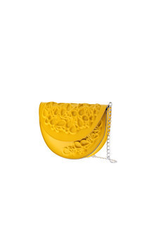 Round clutch - yellow by MeDusa Product photo