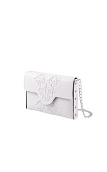 Mini clutch - white by MeDusa Product photo