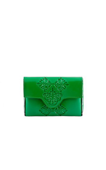 Mini clutch - green by MeDusa Product photo