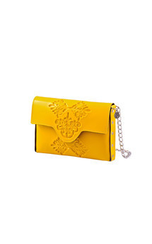 Mini clutch - yellow by MeDusa Product photo