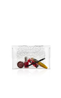 Clear clutch by MeDusa Product photo
