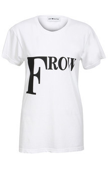 Front row tee white by Off Dutee Product photo