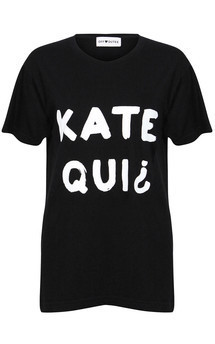 Kate qui tee black by Off Dutee Product photo