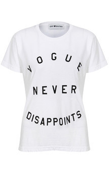Vogue never disappoints tee by Off Dutee Product photo