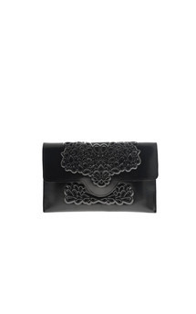 Slim clutch - black by MeDusa Product photo