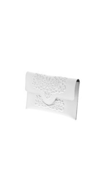 Slim clutch - white by MeDusa Product photo