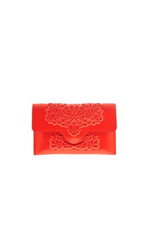 Slim clutch - red by MeDusa Product photo