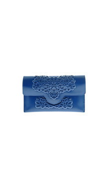 Slim clutch - blue by MeDusa Product photo