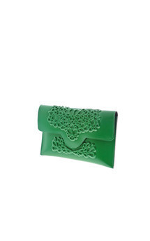 Slim clutch - green by MeDusa Product photo
