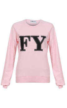 Fy sweater candyfloss pink by Off Dutee Product photo