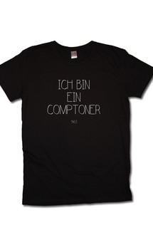 Comptoner tee black by Civissum Product photo