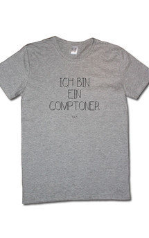 Comptoner tee grey by Civissum Product photo