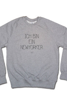 New yorker sweater grey by Civissum Product photo