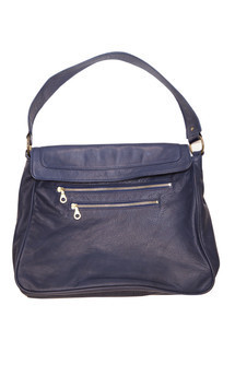 Milly leather tote bag by Amy George Product photo