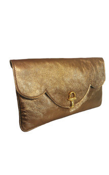 Savannah clutch gold by Amy George Product photo