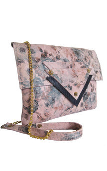 Sophia leather shoulder bag by Amy George Product photo