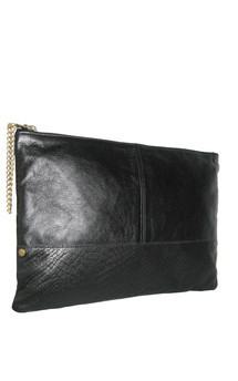 Portfolio clutch black by Amy George Product photo