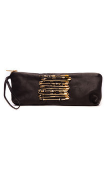 Evening purse with safety pins by Cristina Adami Product photo