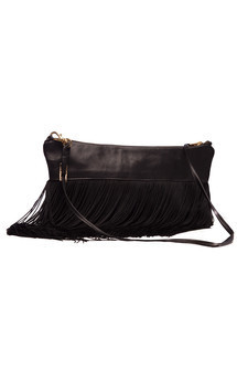 Fringed evening bag by Cristina Adami Product photo