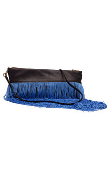 Long fringed evening bag by Cristina Adami Product photo