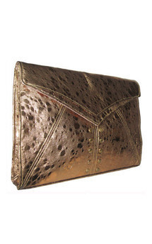 Edie clutch gold by Amy George Product photo