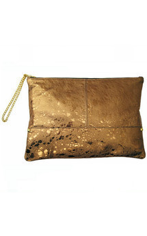 Portfolio clutch gold by Amy George Product photo