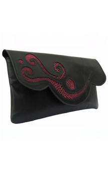 Rosie clutch black by Amy George Product photo