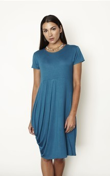 Relaxed pleated dress by Keungzai Product photo