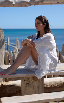 Kamila kaftan by La Mandarine Beachwear Product photo