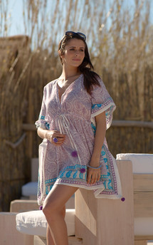 Olivia kaftan by La Mandarine Beachwear Product photo